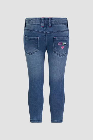 Baby Girls Blue Jeans