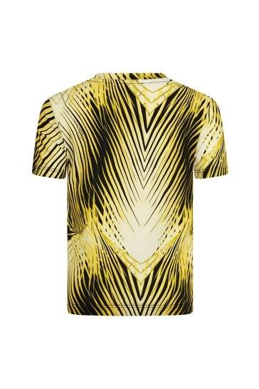 Roberto Cavalli Boys Yellow T-Shirt