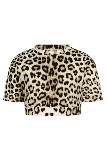 Roberto Cavalli Girls Animal Sweat Top