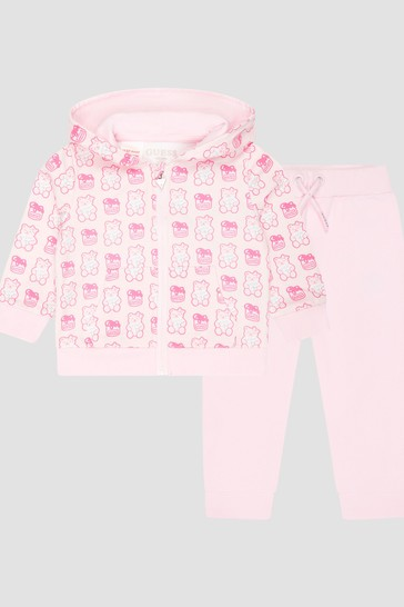 Baby Pink Tracksuit