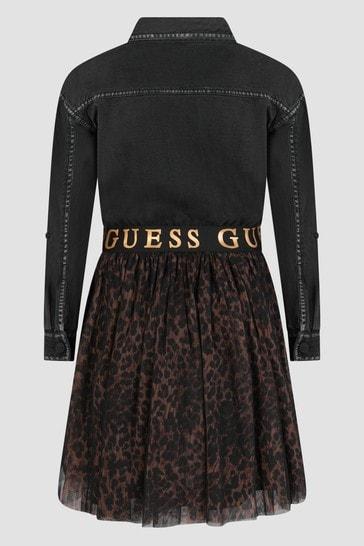 Guess Girls Black Dress