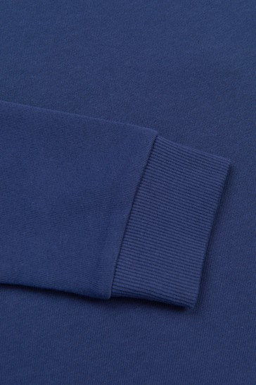 Blue Sweat Top