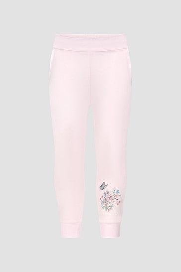 Monnalisa Girls Pink Joggers