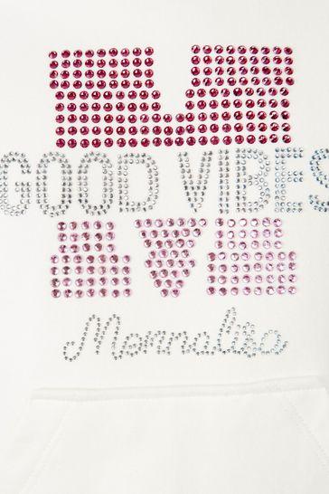Monnalisa Girls Ivory Dress