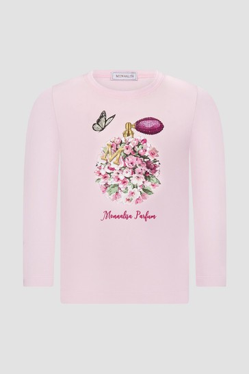 Monnalisa Girls Pink T-Shirt