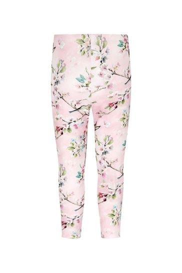 Monnalisa Girls Pink Leggings