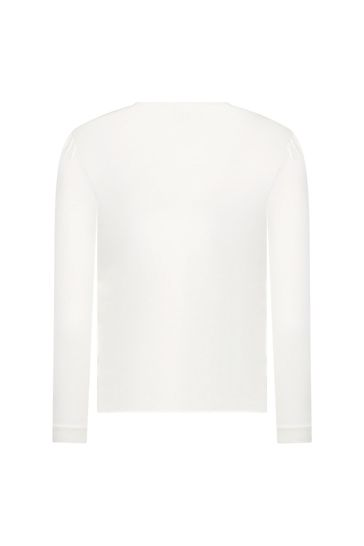 Girls White T-Shirt