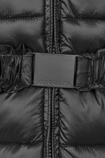 Monnalisa Girls Black Jacket