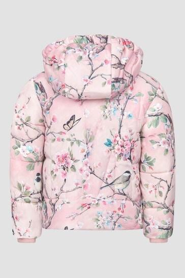 Monnalisa Girls Pink Jacket