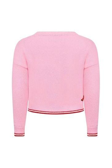 Monnalisa Girls Pink Jumpers