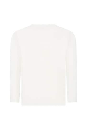 Girls Cream T-Shirt
