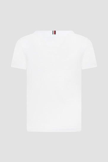 Tommy Hilfiger Boys White T-Shirt