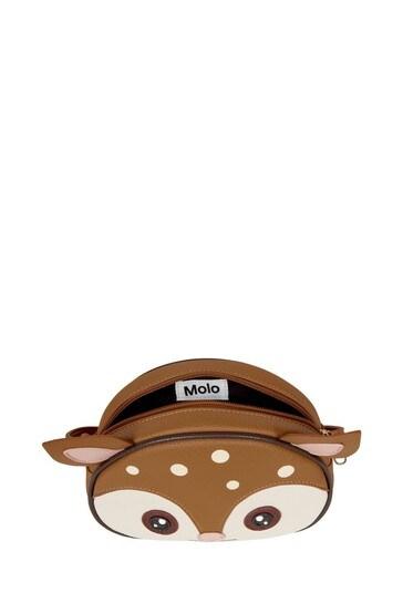 Girls Brown Crossbody Bag
