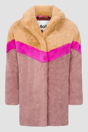 Girls Brown Coat