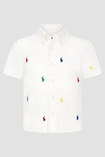 Boys White Shirt