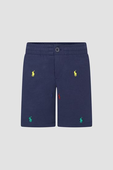 Boys Navy Shorts