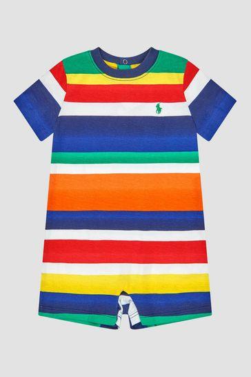 Baby Boys Multicolour Rompersuit