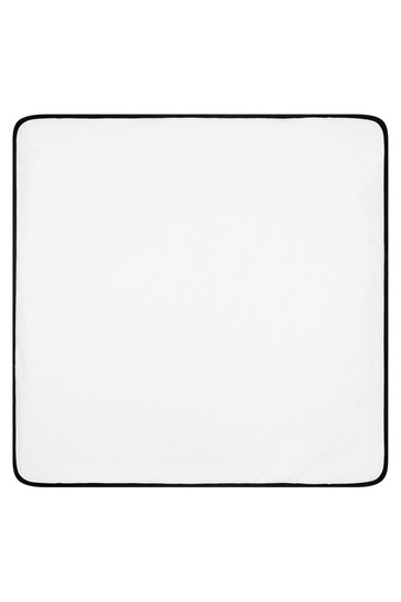 Baby White Blanket
