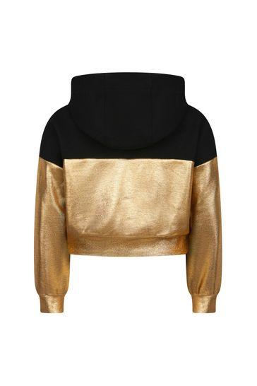 Girls Gold Hoodie