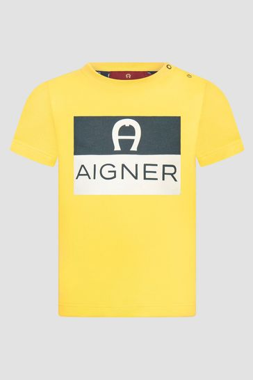 Baby Boys Yellow T-Shirt