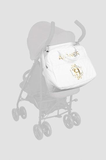 Baby Girls White Changing Bag