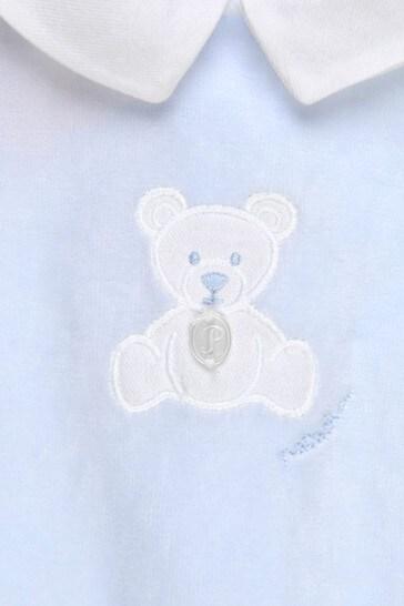 Baby Boys Blue Sleepsuit
