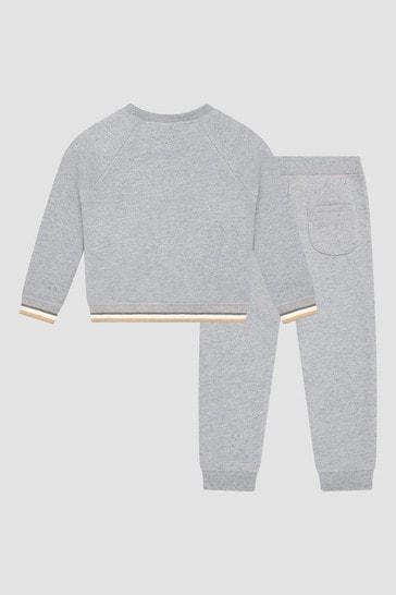Baby Boys Grey Joggers Set