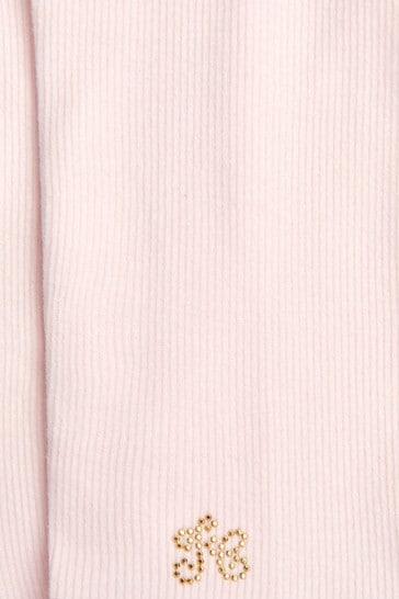 Tartine et Chocolat Baby Girls Pink Leggings