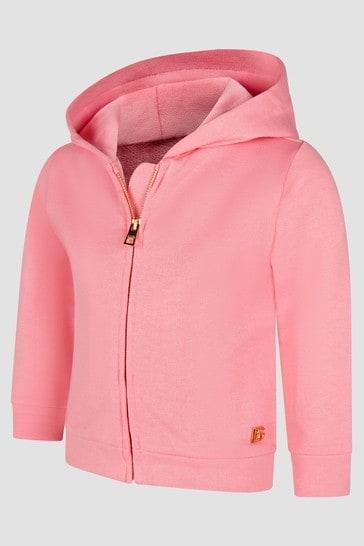 Baby Girls Pink Hoodie