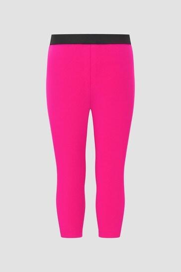 Baby Girls Pink Leggings