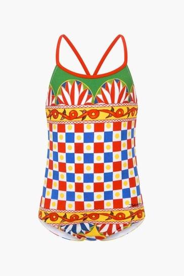 Girls Multi Swimsuit