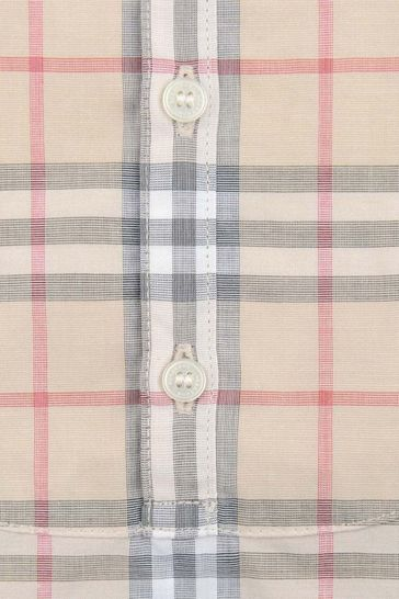 Pale Stone Check Colton All-In-One