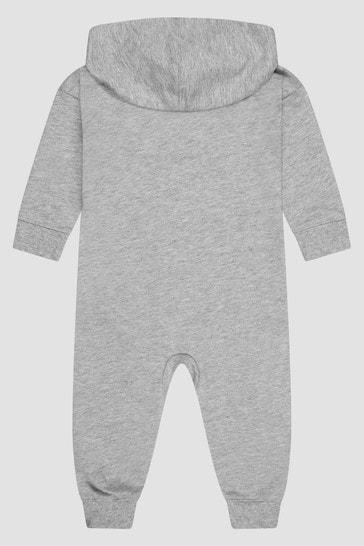 Baby Boys Grey Rompersuit