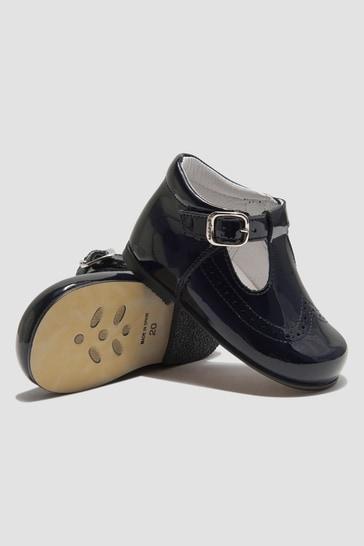 Boys Navy Shoes