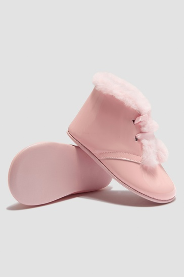 Baby Girls Pink Boots