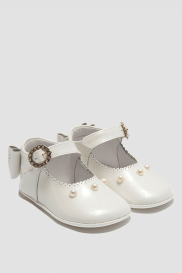 Baby Girls White Shoes