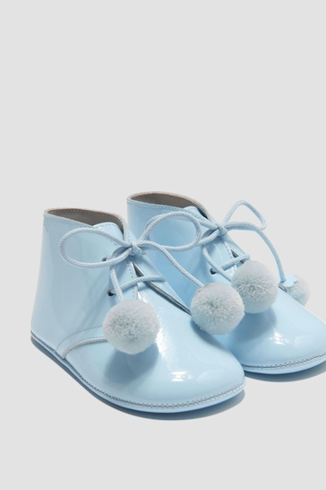 Baby Boys Blue Shoes