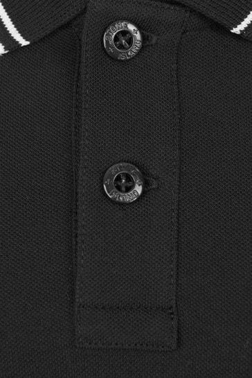 Boys Black Polo Shirt