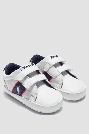 Baby Boys White Trainers