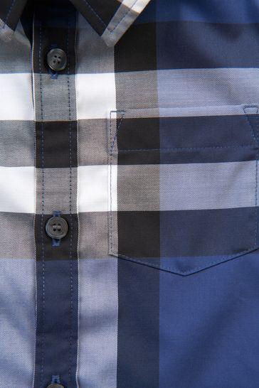 Baby Boys Navy Shirt