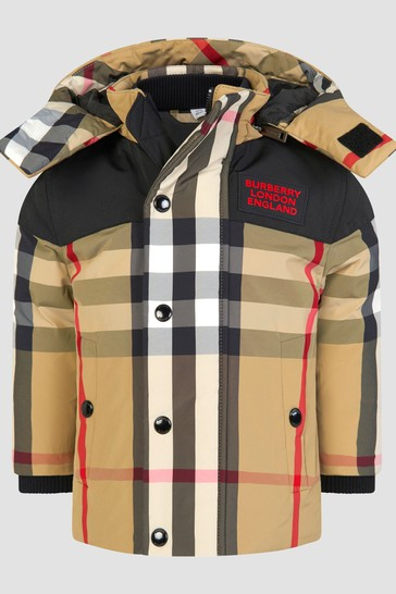 Baby Boys Beige Jacket