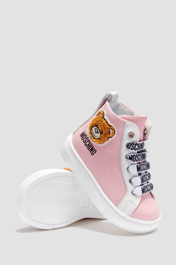 Girls Pink Trainers