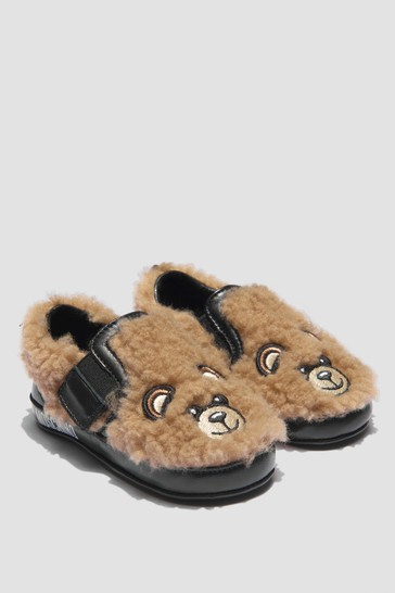 Girls Brown Trainers