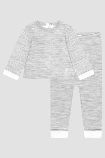 Baby Boys Grey Set