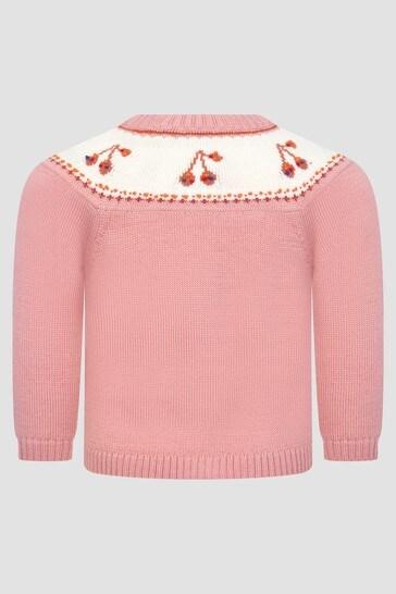 Baby Girls Pink Cardigan