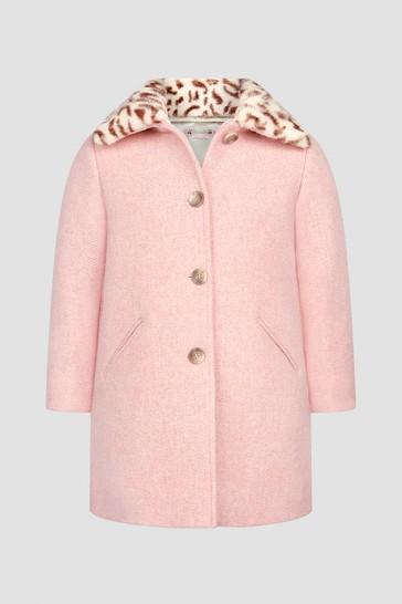 Girls Pink Coat