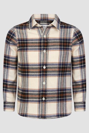 Boys Cream Shirt