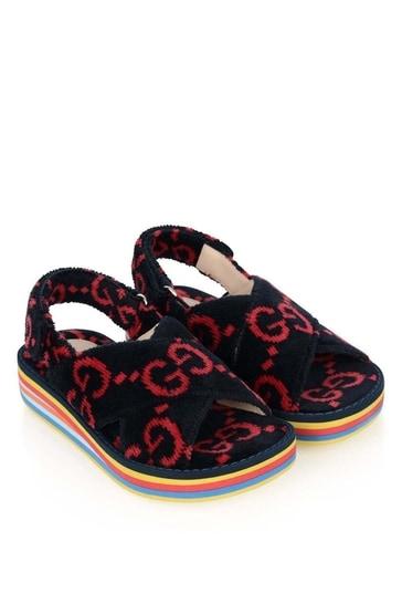 Kids Terry Cloth Sandals
