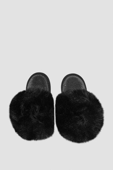 Monnalisa Girls Black Boots