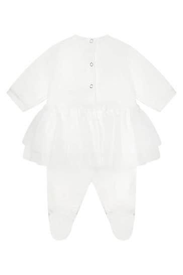Baby Cream Sleepsuit